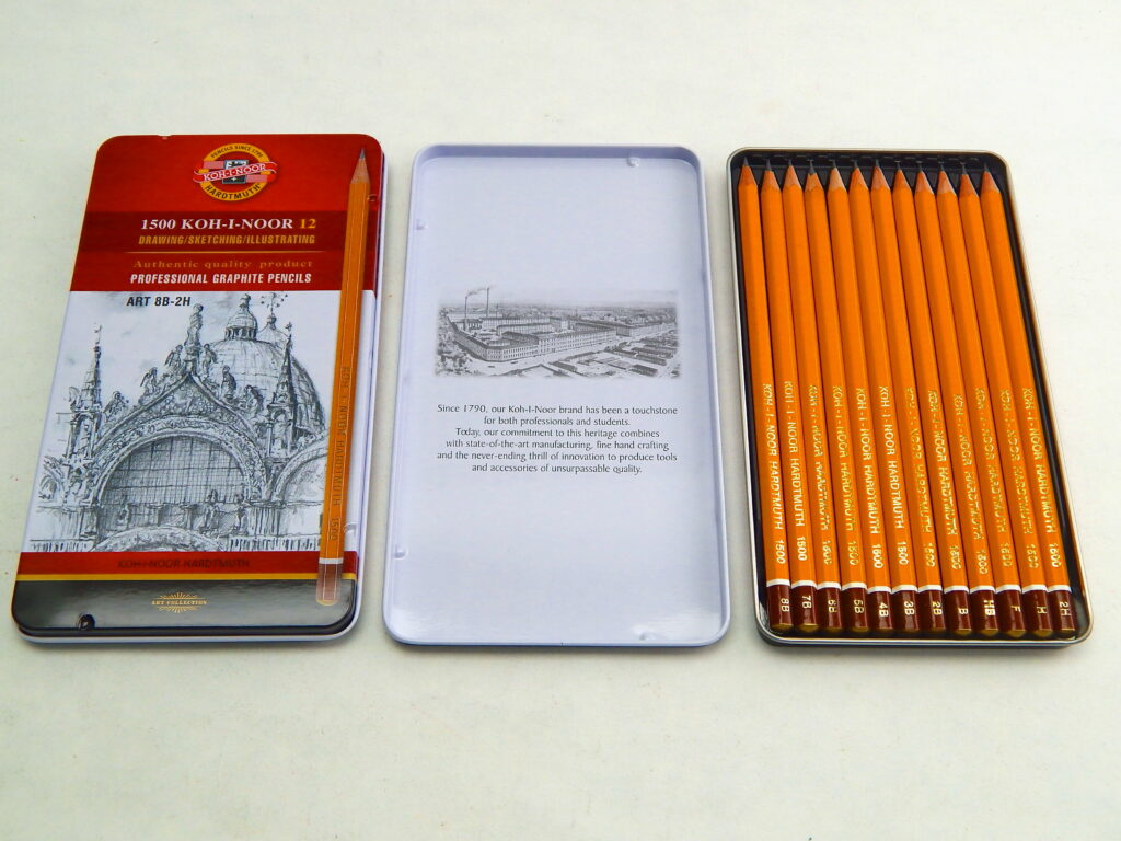 Tužky 1502/II/12  umělecké-sada