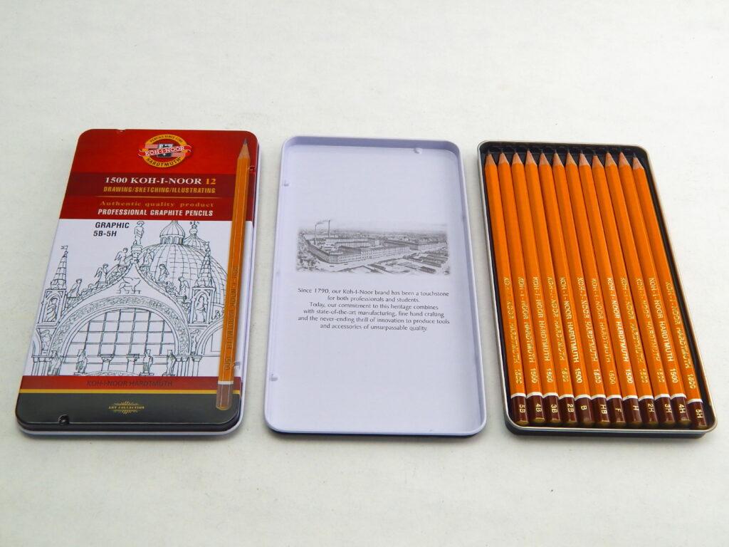 Tužky 1502/III/12 grafické-sada