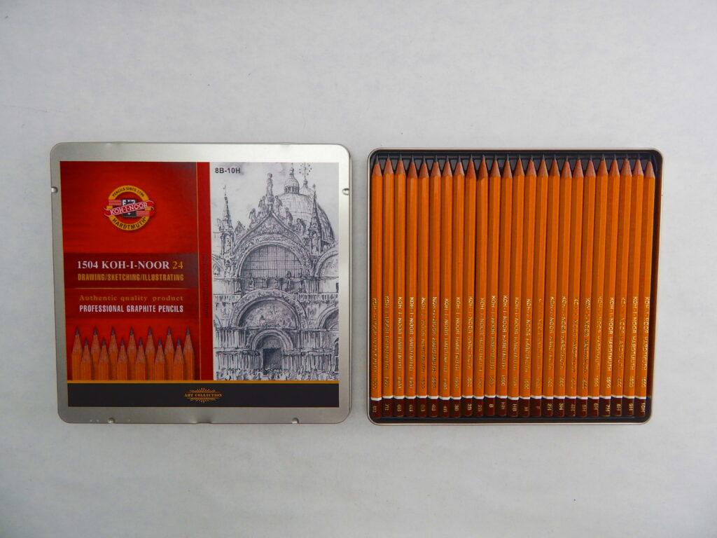 Tužky 1504  grafické-sada