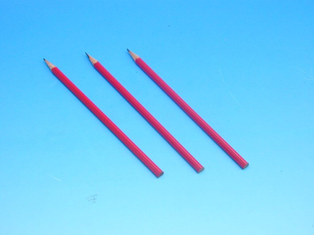Tužka 1800 č.2 AVIATOR  červený lak
