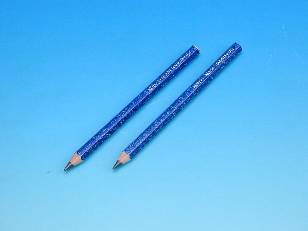 Tužka 1823 HB glitr modrá OK 10