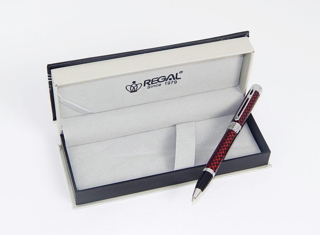Souprava Ritz kuličkové pero červené 92820B