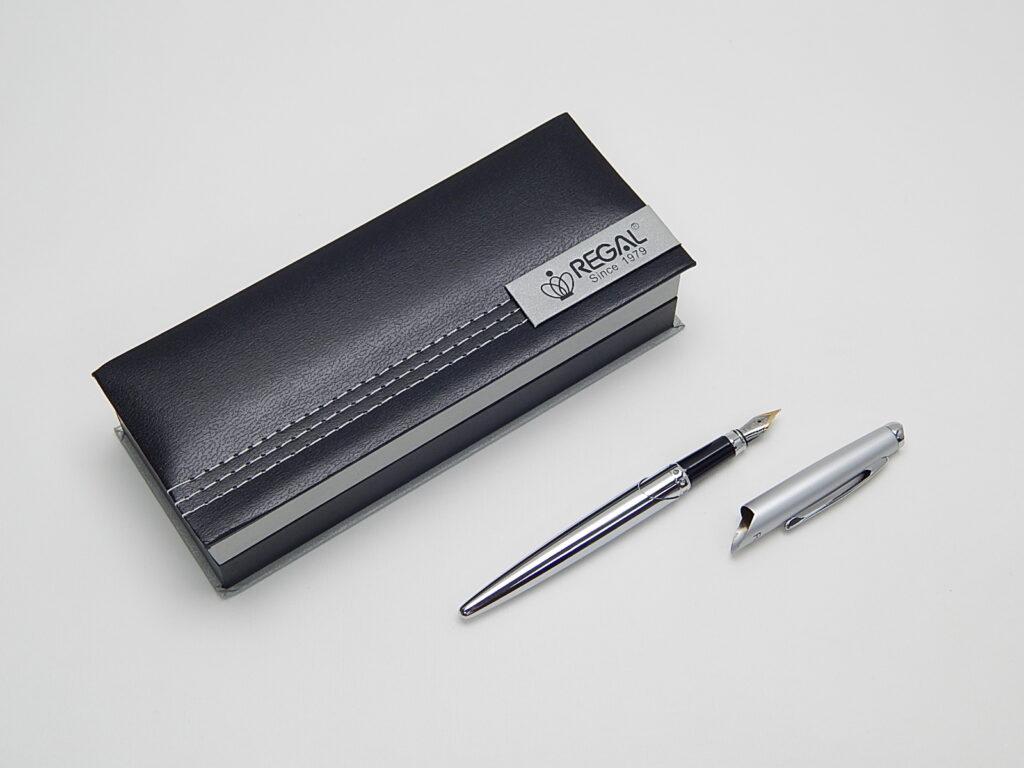 Souprava Themis plnící pero stříbrné /25025F/