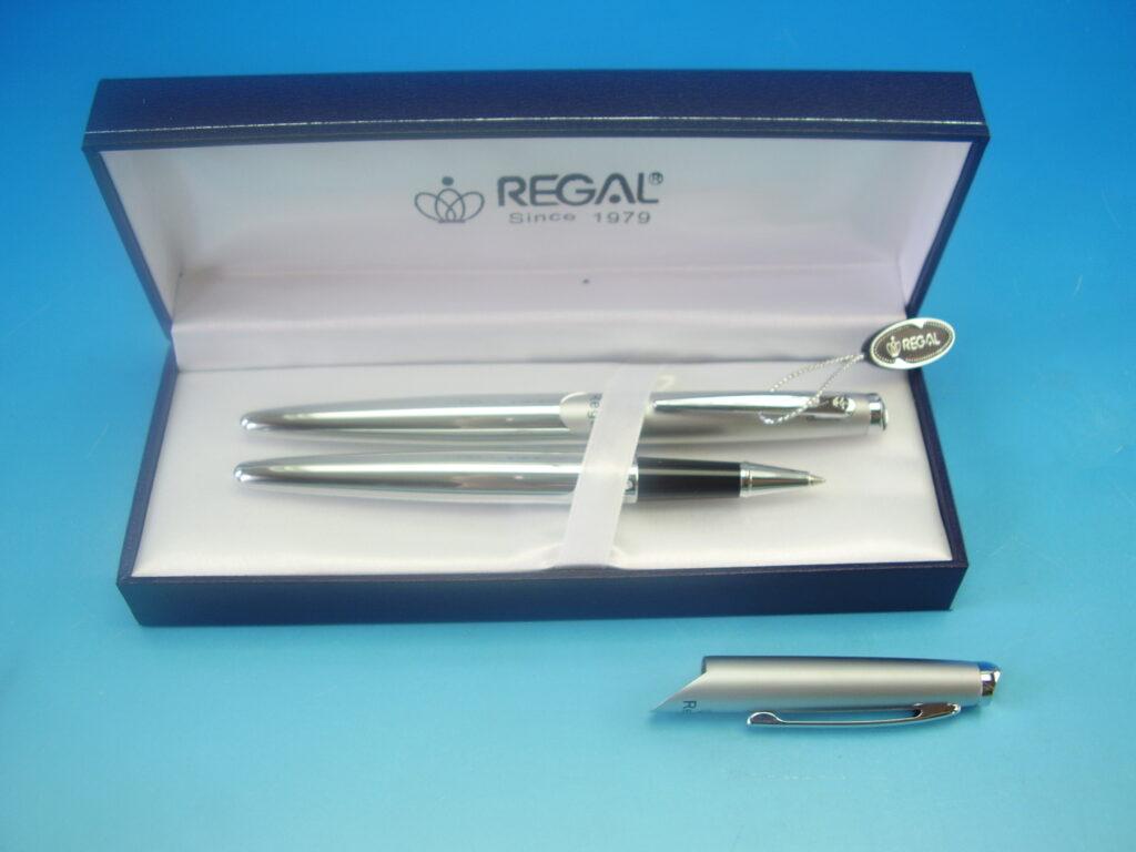 Souprava Themis propiska+roller stříbrná /25021RB/