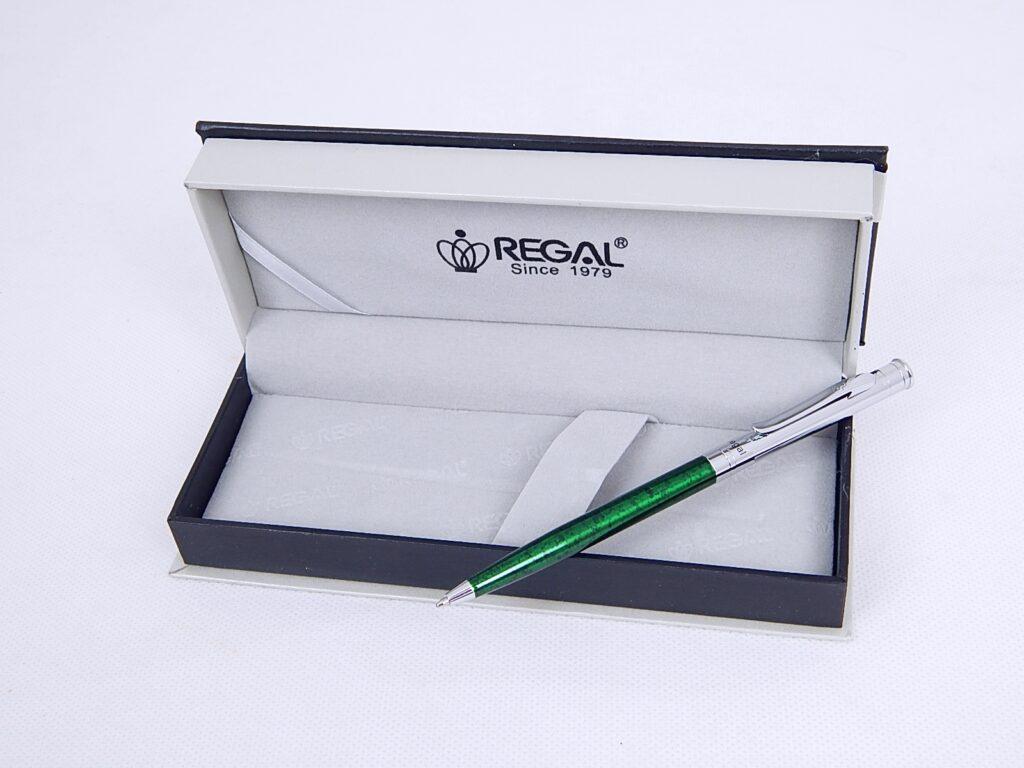 Souprava Lane zelené kuličkové pero / 68823B
