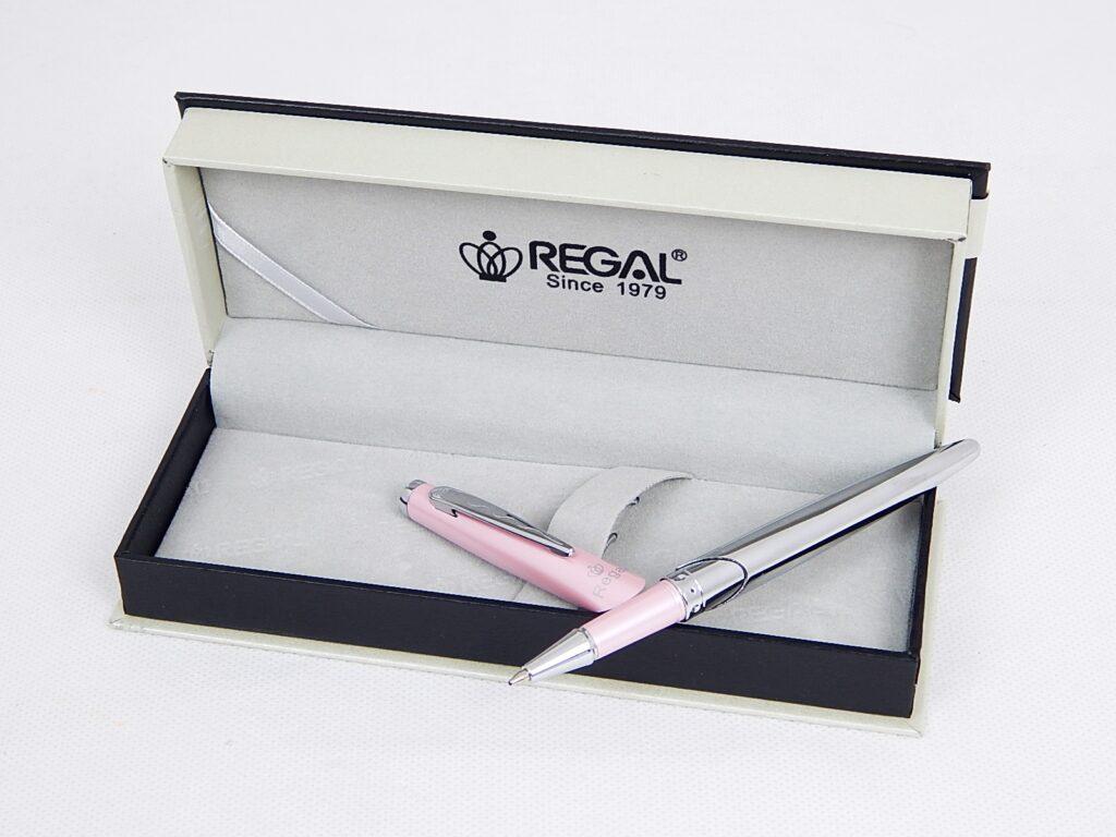 Souprava Themis růžové kuličkové pero gel. / 25210B
