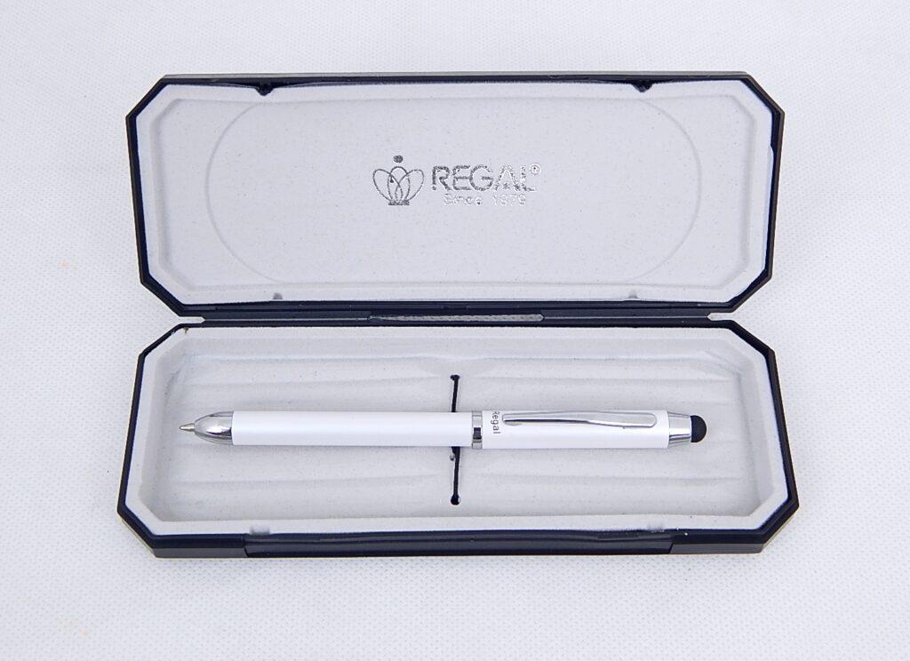 Souprava Touch pen 3 v1 bílé kuličkové / 317407B