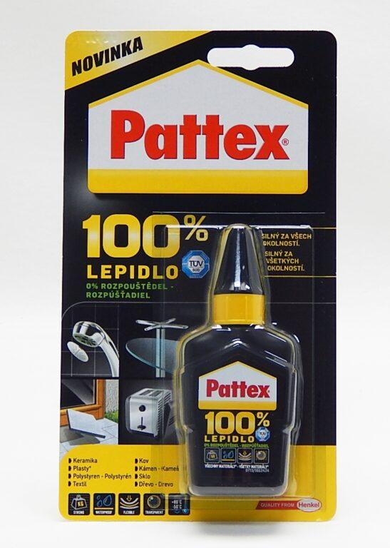 Lepidlo Pattex 100% 50g /1640502/