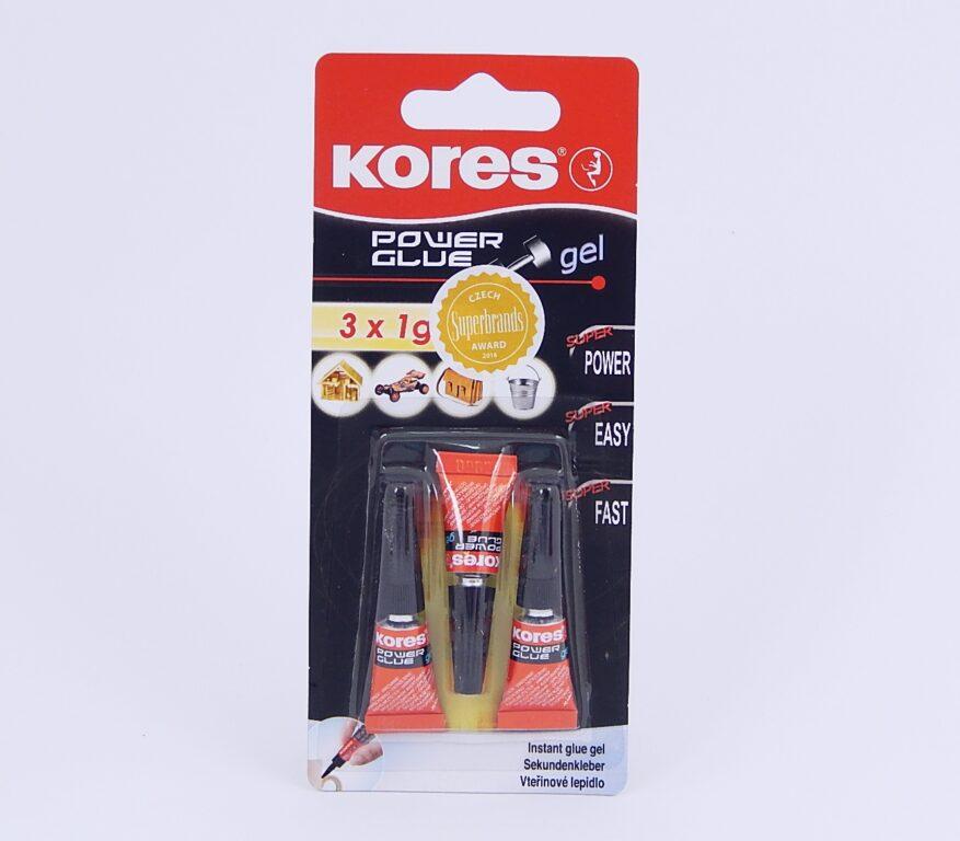 Lepidlo vteřinové Power Glue Gel, 3x1g / 26342/