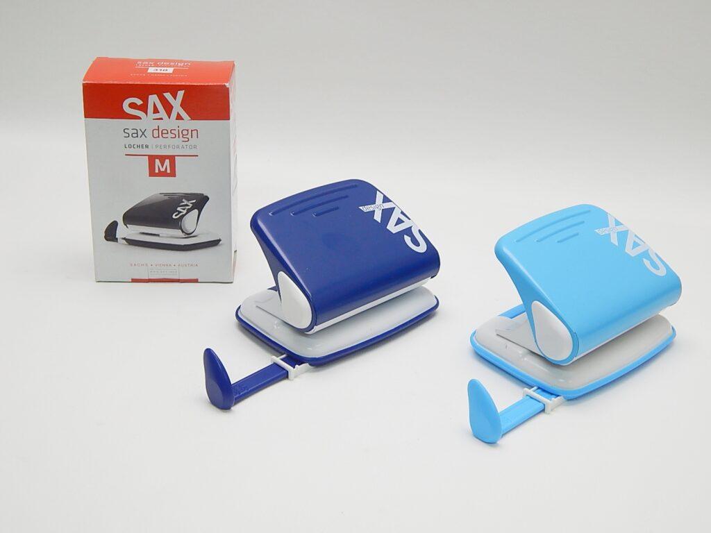 Děrovačka SAX design 318 modrá