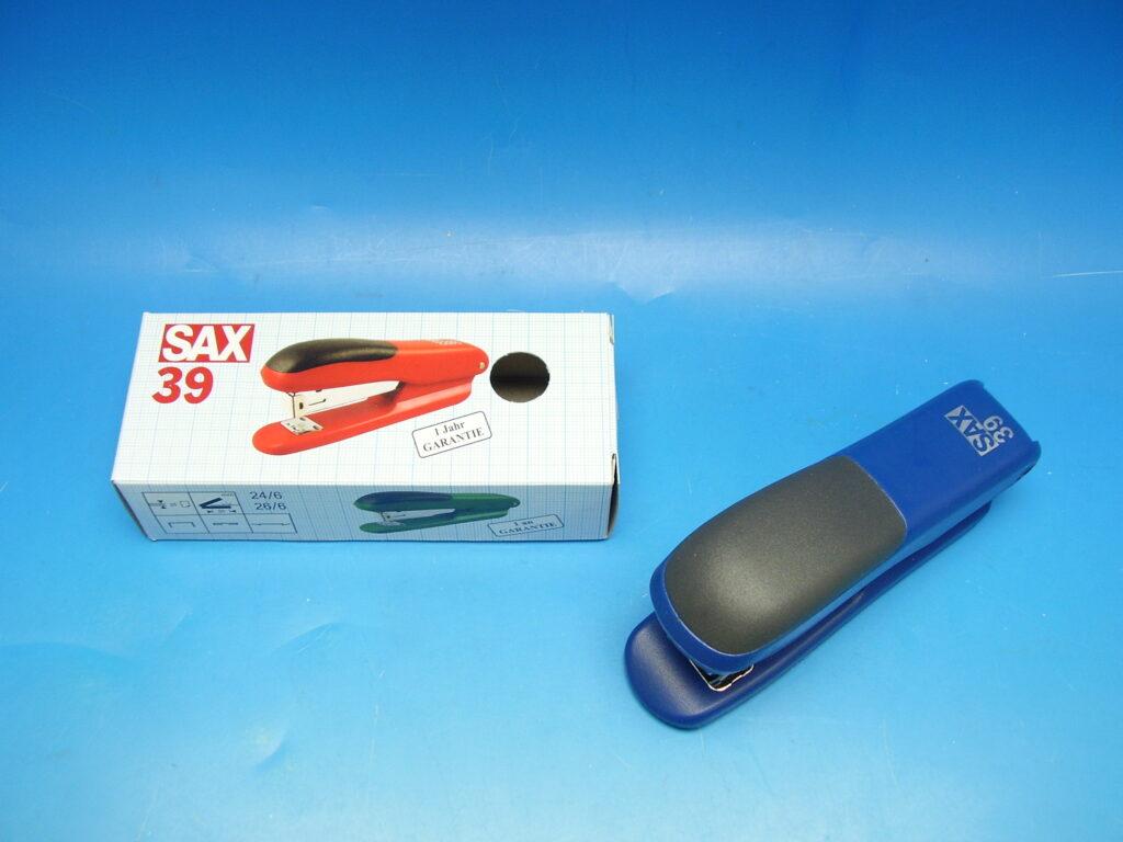 Sešívačka SAX 39 modrá