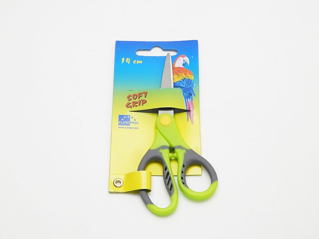 Nůžky Europen 14 cm zeleno šedé