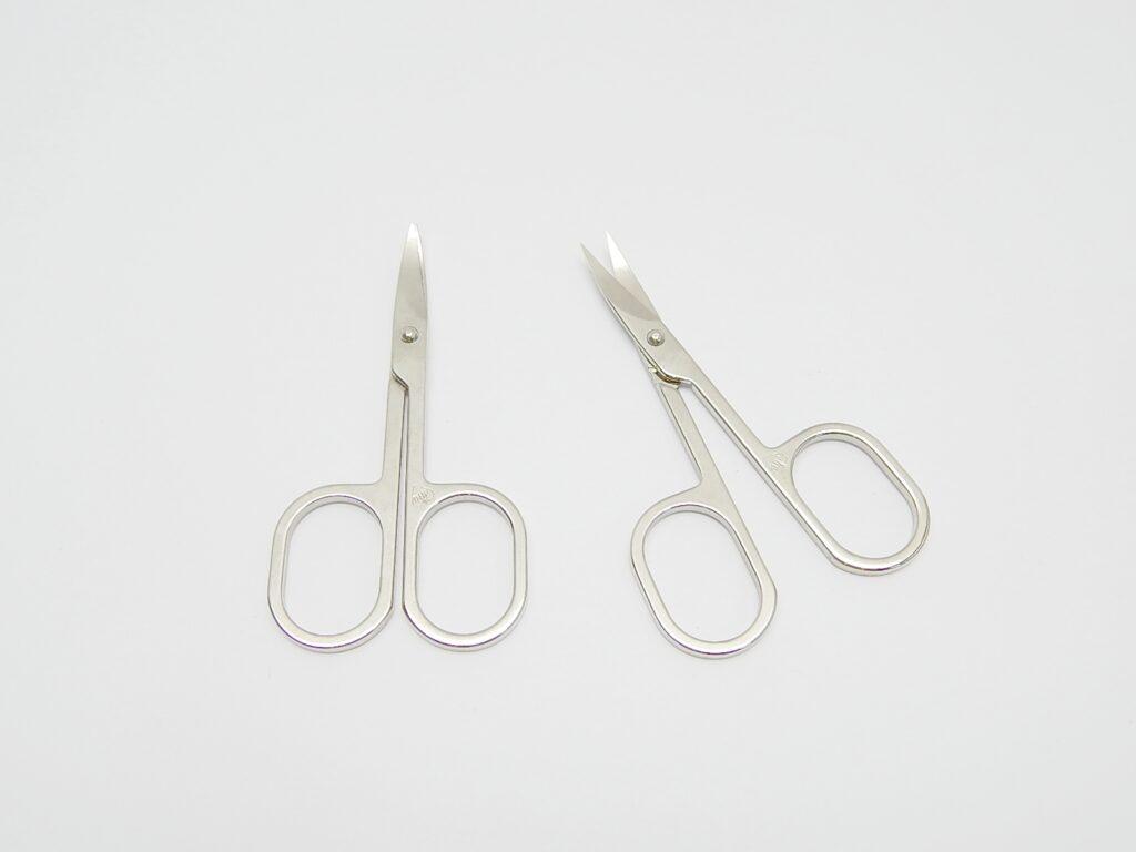 Nůžky nehtové zahnuté  / 911201 /