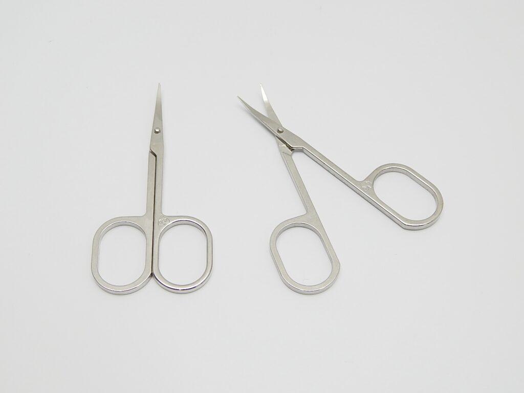 Nůžky záděrkové zahnuté  / 911181/