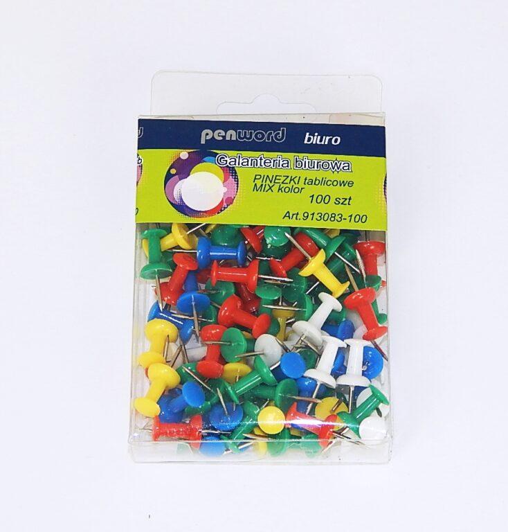 Připínáčky HLA 0161/100ks plast