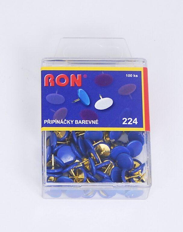 Připínáčky 224 EZ modrý 100 ks