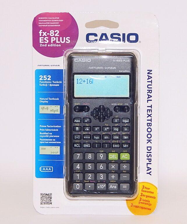 Kalkulačka CASIO FX 82 ES PLUS 2E