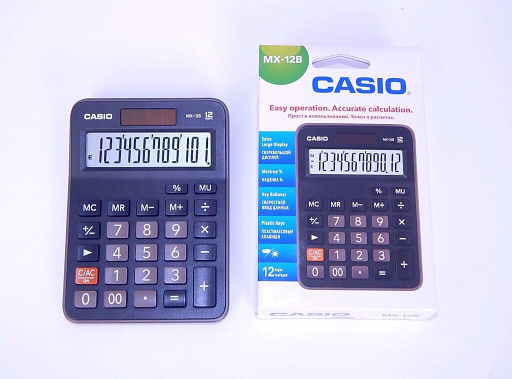 Kalkulačka CASIO MX 12 B BK / 45011337