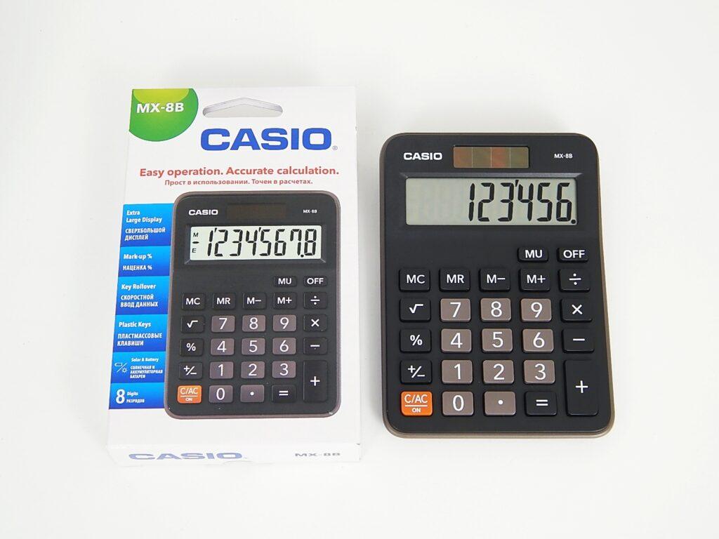 Kalkulačka CASIO MX 8 B / 45013641