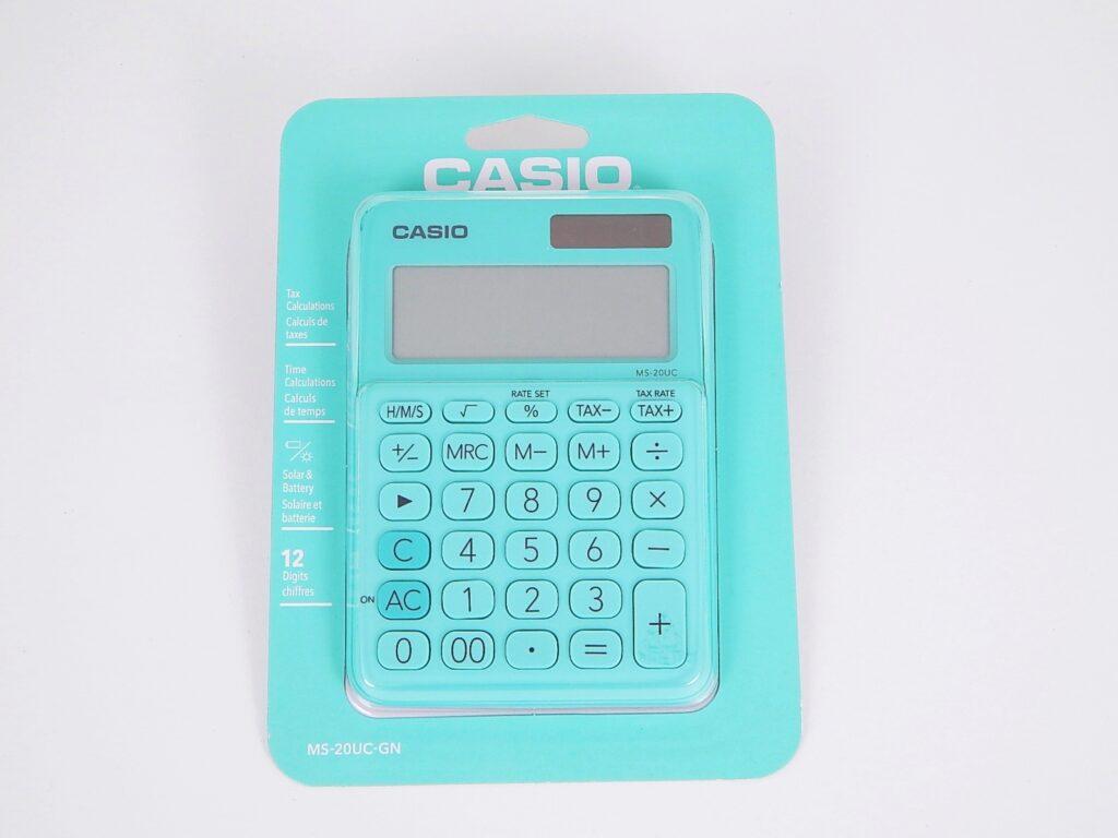 Kalkulačka CASIO MS 20UC GN / 45013200