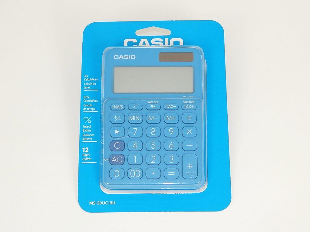 Kalkulačka CASIO MS 20   UC BU / 45013198