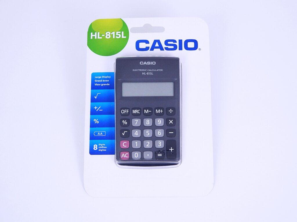 Kalkulačka CASIO HL 815L BK / 10001593