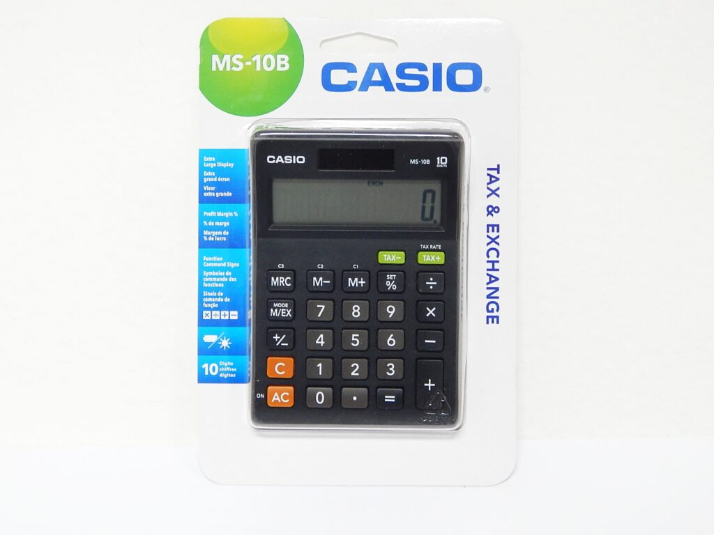 Kalkulačka CASIO MS-10B
