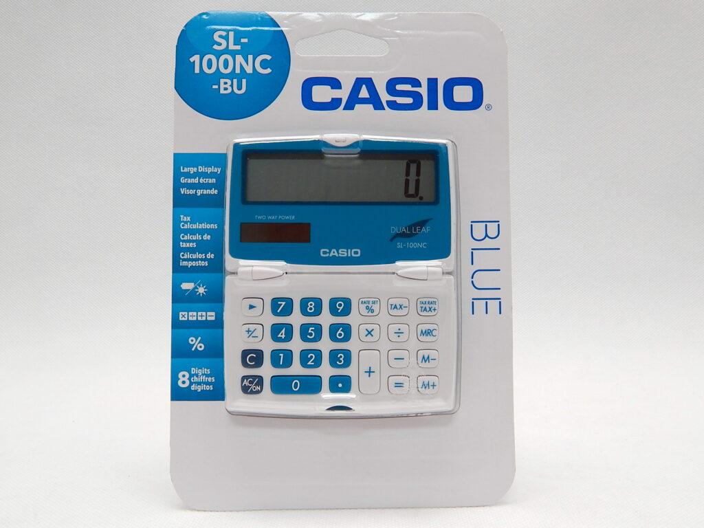 Kalkulačka CASIO SL100NC BU