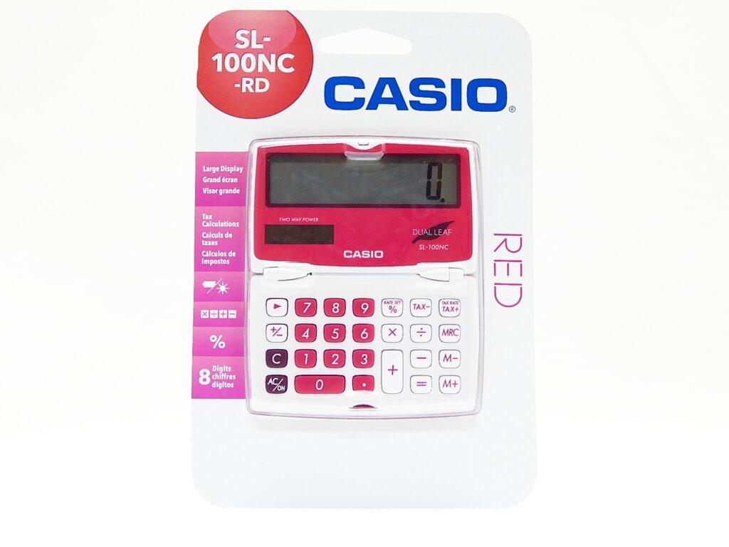 Kalkulačka CASIO SL100NC RD