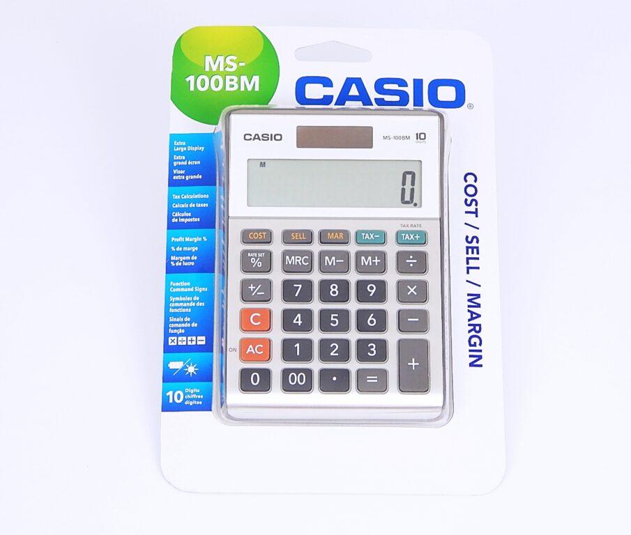 Kalkulačka CASIO MS -100BM