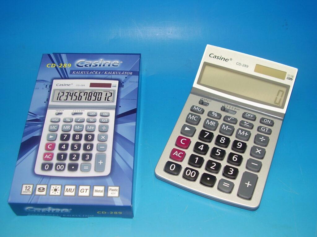 Kalkulačka Casine CD-289 12 - místná