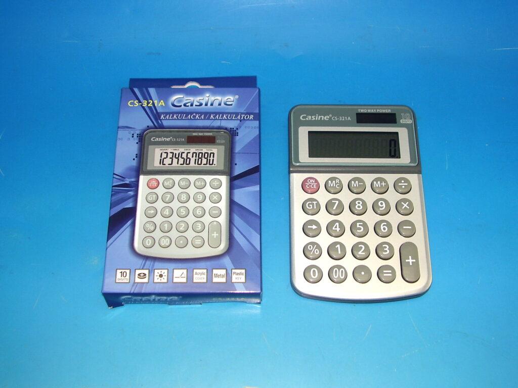 Kalkulačka Casine CS-321A 10-místná