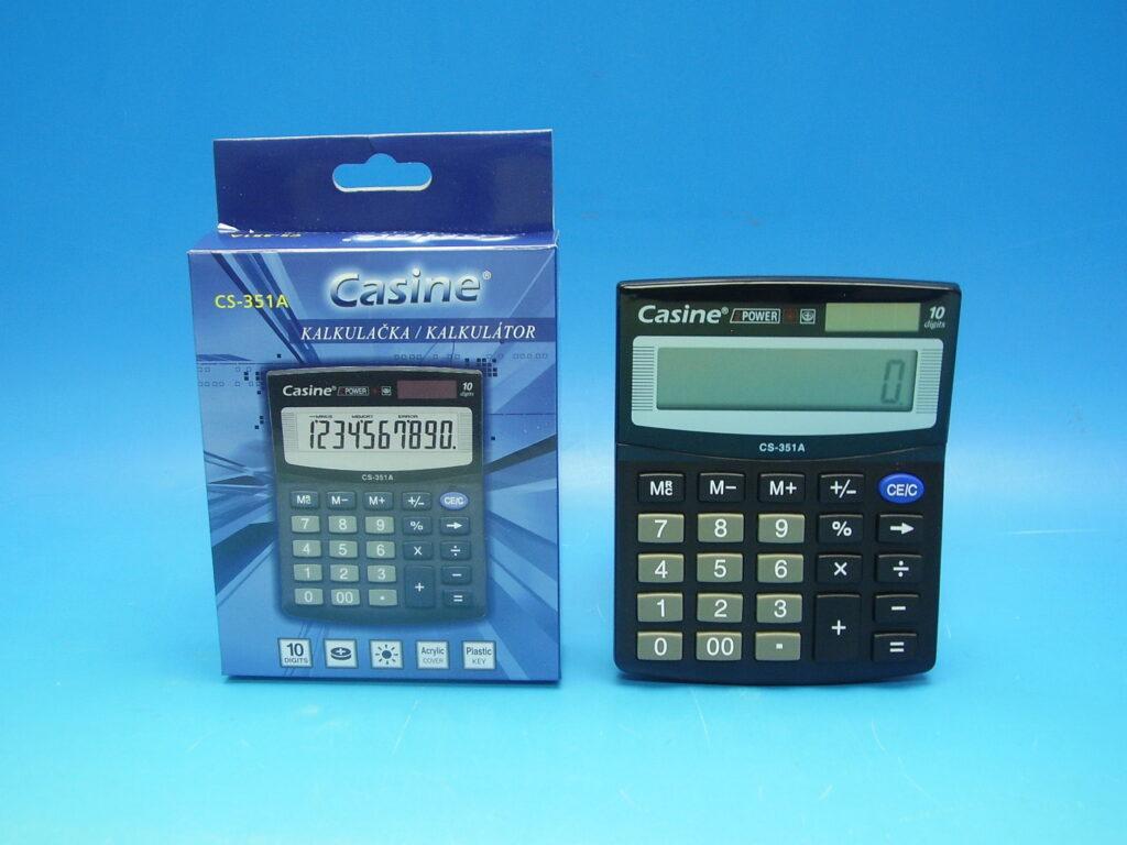 Kalkulačka Casine CS-351A 10-místná