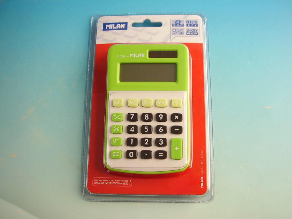 Kalkulačka MILAN 150808GR zelená