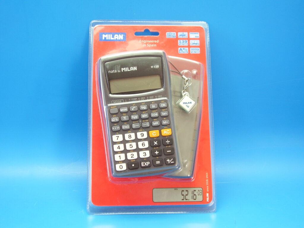 Kalkulačka MILAN 159010KBL vědecká (M139)