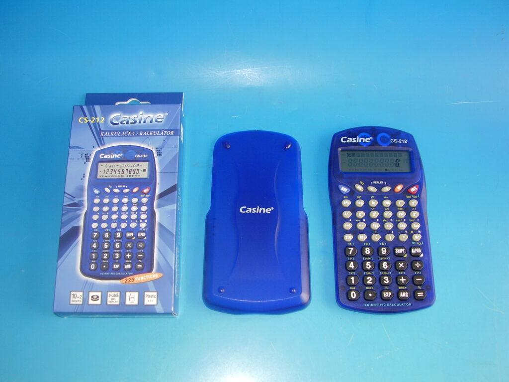 Kalkulačka Casine CS-212 vědecká modrá