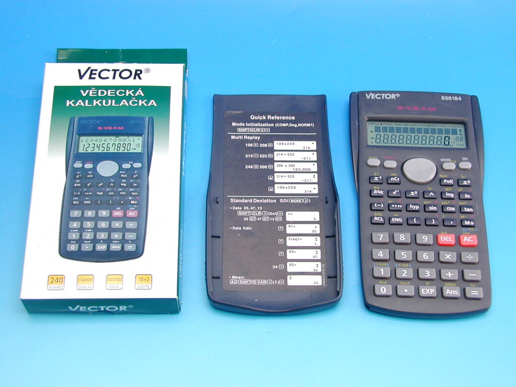 Kalkulačka vědecká VECTOR 886184