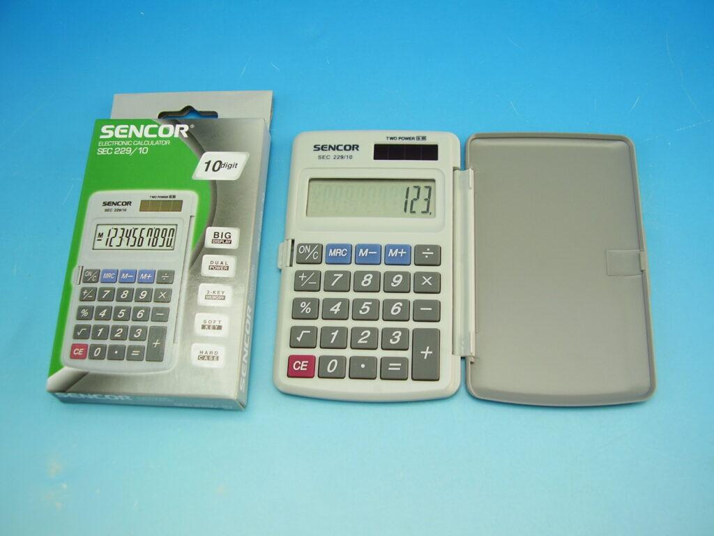 Kalkulačka SENCOR SEC 229/10