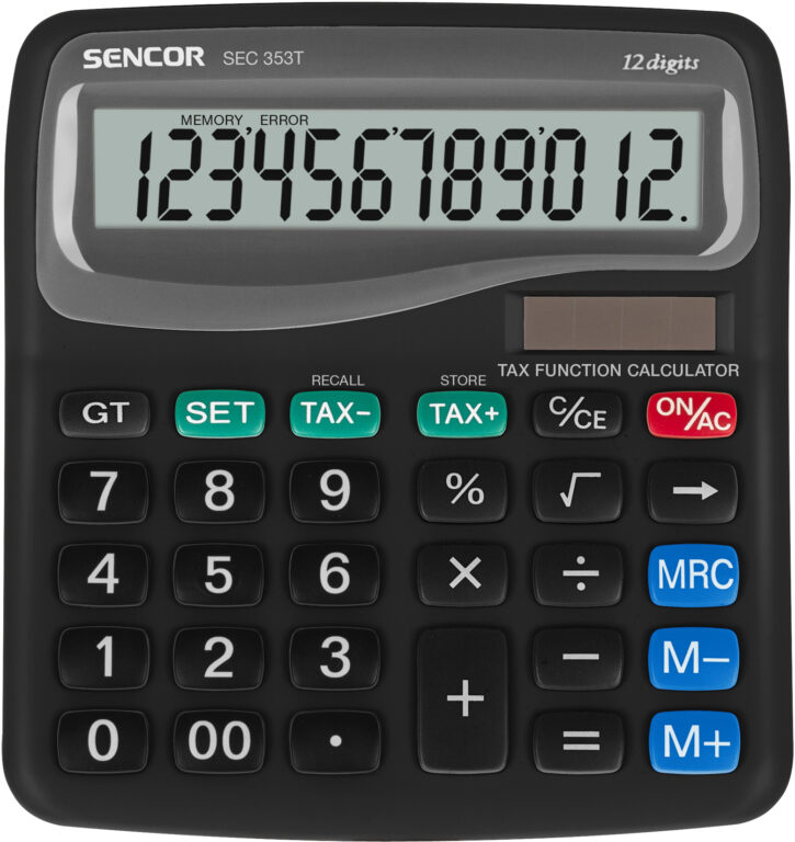 Kalkulačka SENCOR SEC 353T