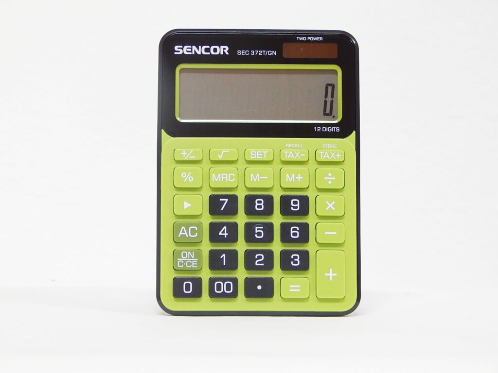 Kalkulačka SEC 372T/GN 12 míst. zeleno-černá /45009802/