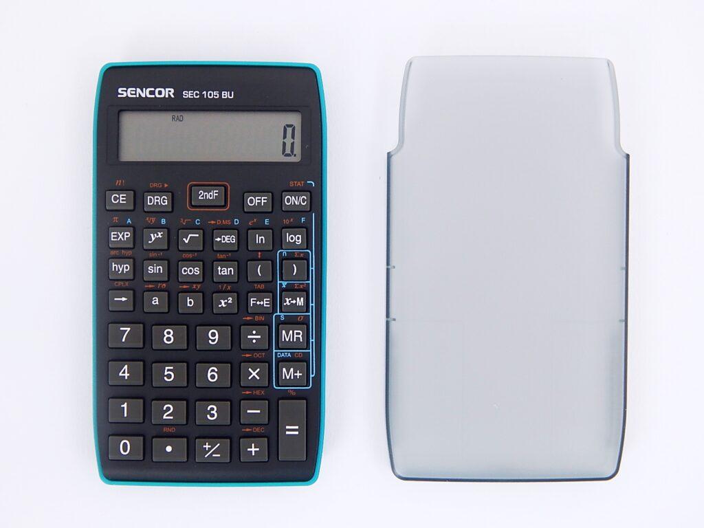 Kalkulačka SENCOR SEC 105 BU, 10 míst. /45011707/