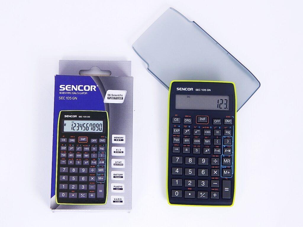 Kalkulačka SENCOR SEC 105 GN, 10 míst. /45011708/