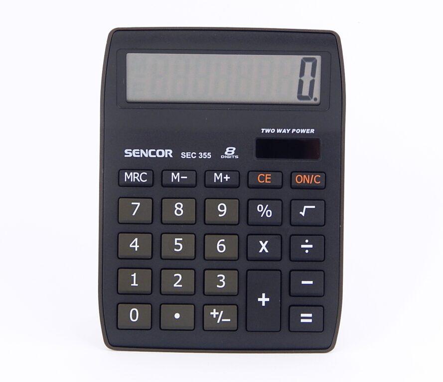 Kalkulačka SENCOR SEC 355, 8 míst. /45011761/