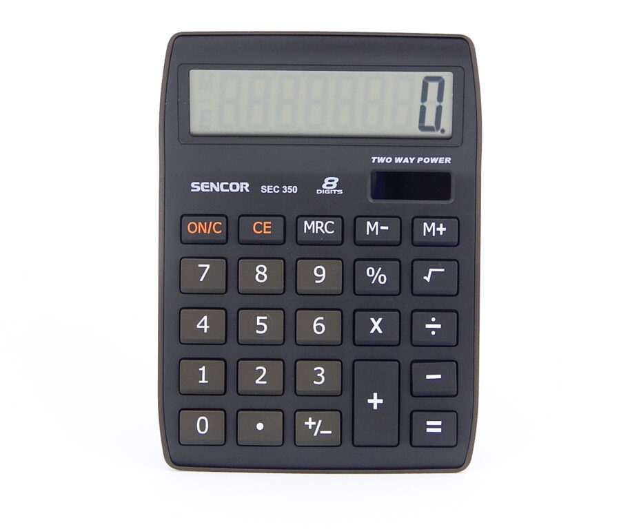 Kalkulačka SENCOR SEC 350, 8 míst. /45011710/
