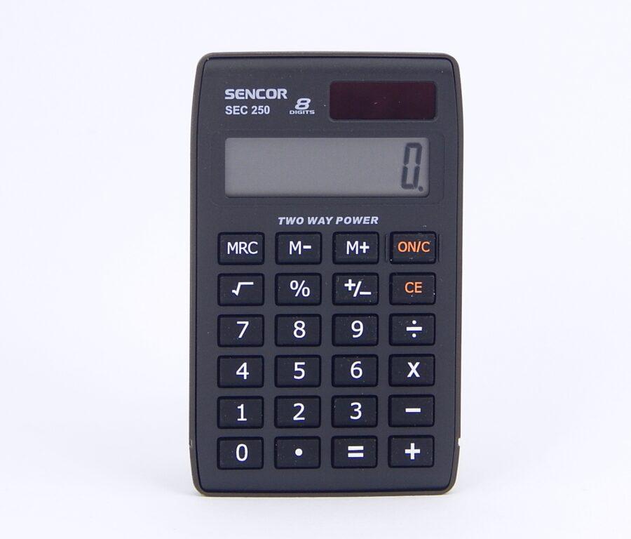 Kalkulačka SENCOR SEC 250, 8 míst. /45011709/