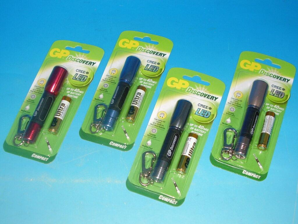 Svítilna GP LED Mix barev18x90mm, 1451202000