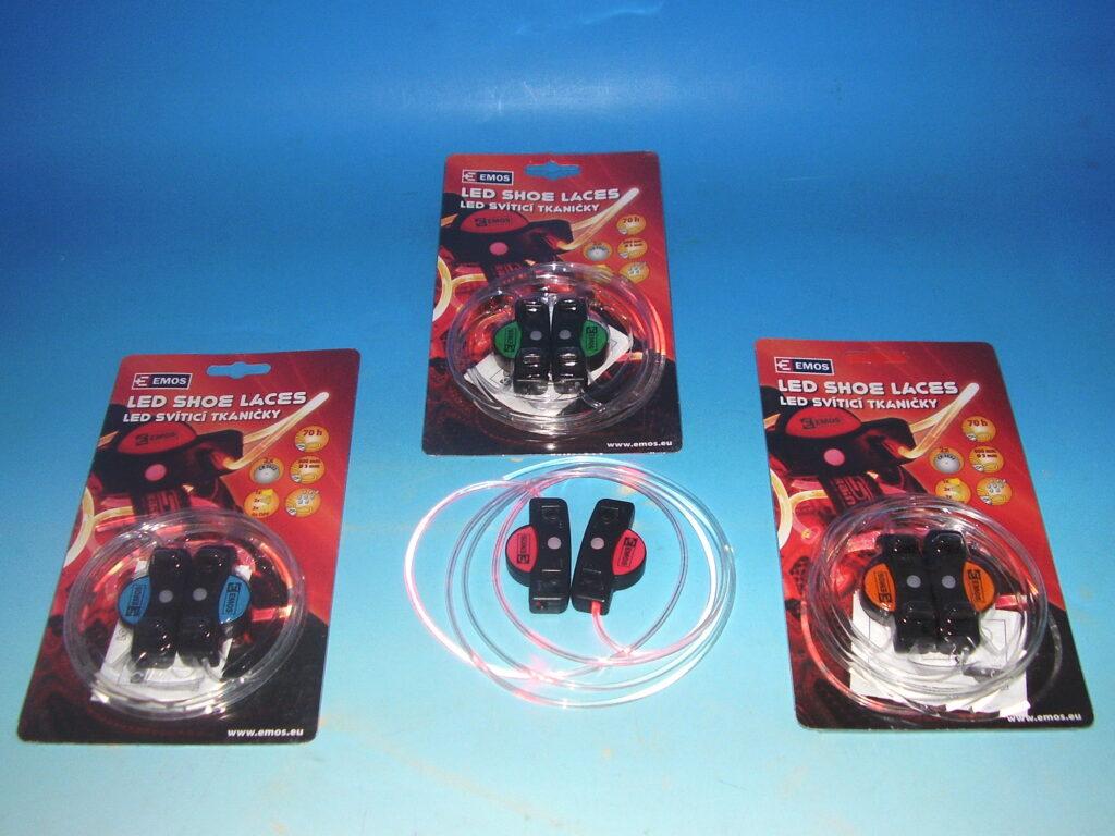 Svítilna LED tkaničky  mix barev  1440901900