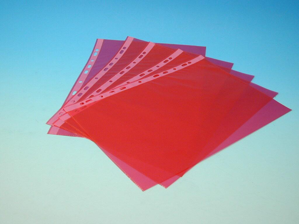 Složka A4 eurofolie červená PH 101