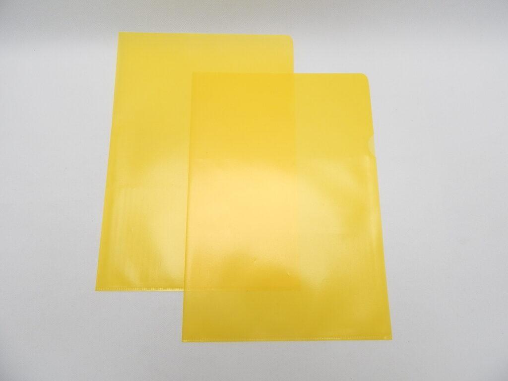 """Obal zakládací A4 """"L"""" žlutá /AH113/"""