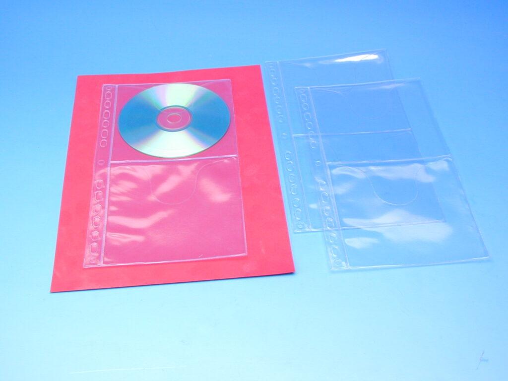 Obal závěsný na CD disky-double /2015/